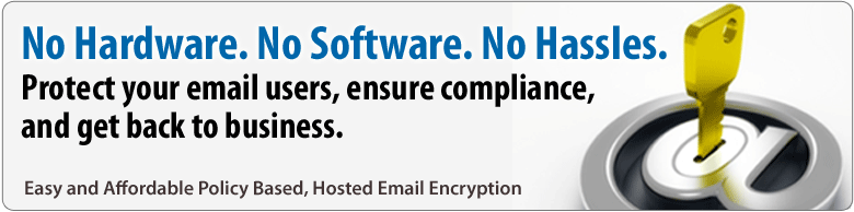 SecureMailEncryption Hosted Email Encryption